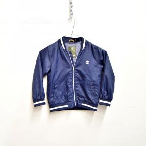 Jacket Boy Timberland 4 To Blue