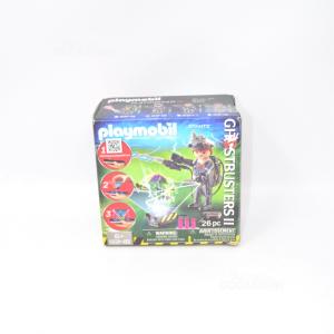 Playmobil 9348 Fantasma Cacciatori Raymond Stantz Ghostbusters Figura I