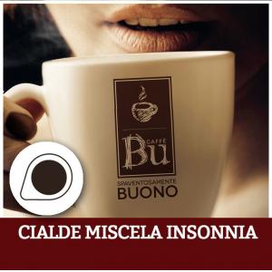 Caffè BU kit 100 cialde ESE diametro 44 mm miscela INSONNIA