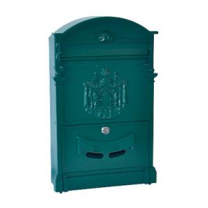 CASSETTA POSTALE RESIDENCE cm 25,5 x 9 x H. 41 Verde