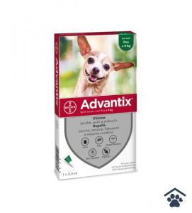 Advantix Soluzione Spot-on Cani fino 4 kg