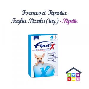 Formevet | Cane | FIPRATIX SPOT ON - TAGLIA (PICCOLA) TOY 1,5-4kg / 26,84 Mg