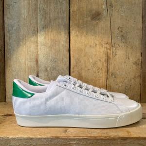 Scarpa Adidas Rod Laver Vintage Bianca e Verde