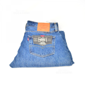Pantalone Uomo In Jeans Levi's Tg.50 Nuovi