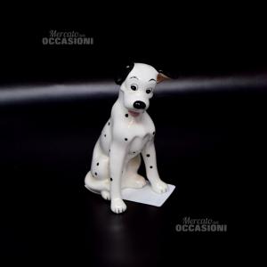 Oggetto In Ceramica Cane Disney China Altezza 13 Cm