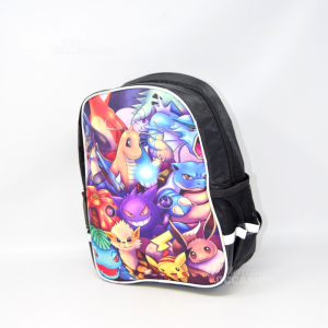 Backpack Pokemon 30x23 Cm