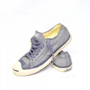 Scarpe Uomo Converse N 42.5 Blu Jack Parcell