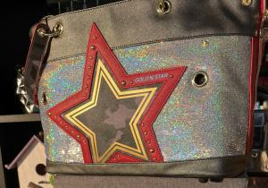 BORSA GOLD'ENSTAR CAMOUFLAGE RED STAR