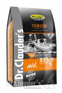 Dr. Clauder's Junior pollo medium