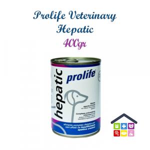 Prolife | Linea Veterinary Formula - Cane | Hepatic - Umido / 400gr