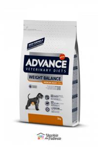 ADVANCE | DIET DOG | WEIGHT BALANCE MED/MAX / 3 kg 12 kg