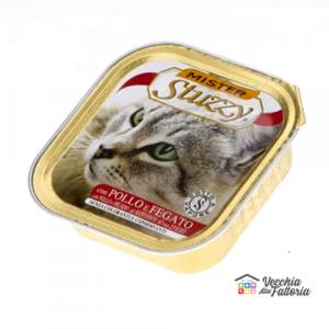 AGRAS STUZZY | MISTER | Patè gusto Pollo con Fegato / 100gr