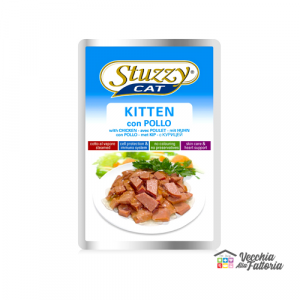 AGRAS STUZZY CAT | Bocconcini KITTEN - POLLO / 100gr