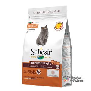 Schesir | Secco Gatto | Sterilized & light ricco al Pollo / 400gr