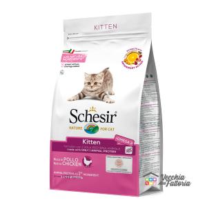 Schesir | Secco Gatto | Kitten ricco in pollo / 400gr
