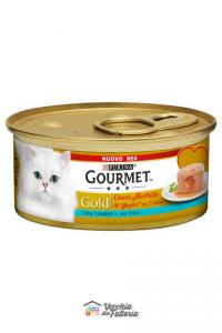 PURINA | GOURMET GOLD - Cuore Morbido / Gusto: TONNO - 85gr