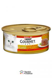 PURINA | GOURMET GOLD - Cuore Morbido / Gusto: MANZO - 85gr
