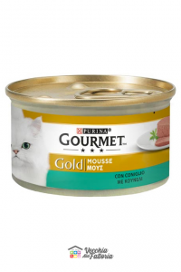 PURINA   GOURMET GOLD - Mousse / Gusto: Coniglio - 85gr