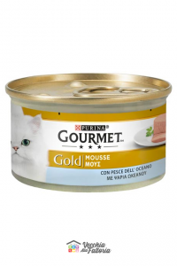 PURINA   GOURMET GOLD - Mousse / Gusto: Pesce dell'Oceano - 85gr