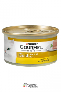 PURINA   GOURMET GOLD - Mousse / Gusto: Pollo - 85gr