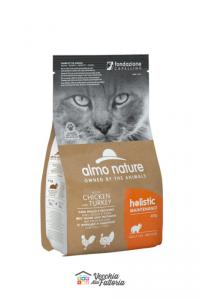 Almo Nature Gatto   Linea Holistic   Pollo e Tacchino / 2 kg