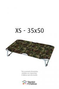 Leopet | BRANDINA FISSA MIMETICA VERDE - 35x50 cm XS