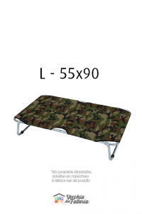 Leopet | BRANDINA FISSA MIMETICA VERDE - 55x90 cm L