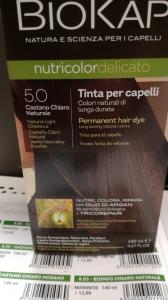 Biokap Nutricolor tinta per capelli 5.0 castano naturale