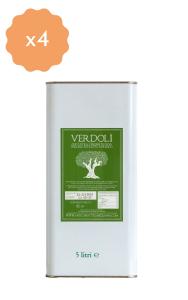 Box 4 latte 5 litri Verdolì