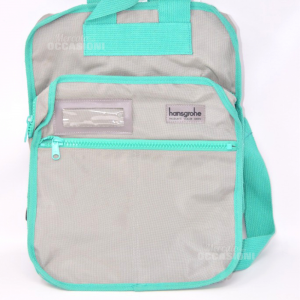 Backpack Hansgrohe Vintage Gray Edges Green Cerniere Multiple 30x44x20 Cm