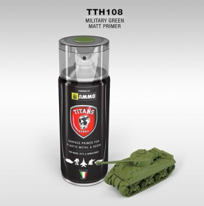 PRIMER Verde Militare Opaco