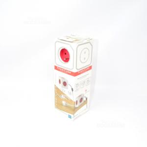 Power Cube Presa Elettrica 5 Ingressi Nuova