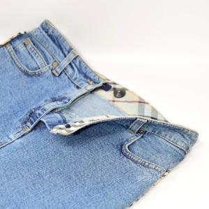 Minigonna In Jeans Burberry London Originale Tg. 38