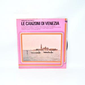 Vinile 33 Giri Le Canzoni Di Venezia, Umberto Da Preda
