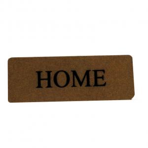 Zerbino tappeto 27x70 scritta HOME