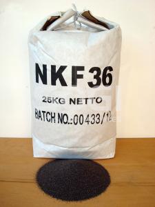 Corindone 25 Kg grana 36 ossido alluminio sabbiatrice sabbia graniglia abrasivo sabbiatura