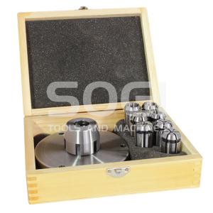 Mandrino porta frese con flangia per tornio 7 pinze SOGI M3-550D MS-2