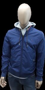 Giubbotto uomo reversibile | Colore Blu e Bluette tommy hilfiger