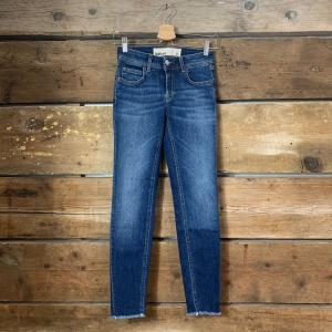 Jeans Donna Haikure Victor Skinny Crop Comfort Denim Used