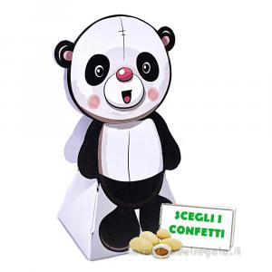 Portaconfetti a forma di Panda 7.5x4x11.5 cm - Scatole battesimo e comunione