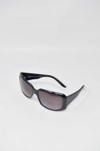 Occhiali Da Sole Nuovi Assoluto Made In Italy Modello 322 Nero