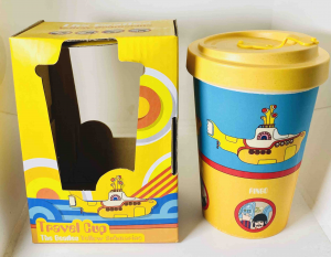 Tazza in Bambù Beatles Yellow Submarine