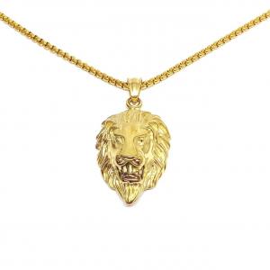COLLANA LION ORO O ARGENTO