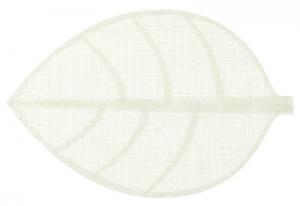 Sottopiatto/ tovaglietta a forma di foglia