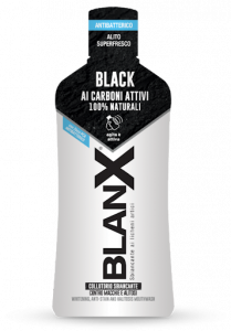 BLANX black Collutorio ai carboni attivi 100% naturali 500ml