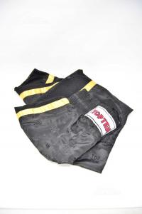Pantalone Donna Kick Boxing Neri Top Ten Neri Tg.M