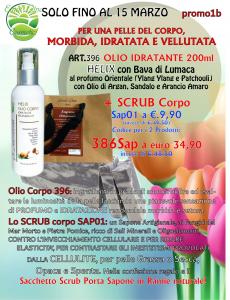 Olio rigenerante Bava di Lumaca + Sapone Scrub Fanghi del Mar Morto