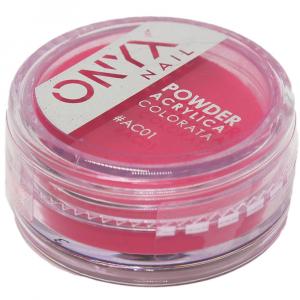 Polvere Acrilica Colorata OnyxNail -  COLORE #AC01 - Colore : Rosso
