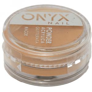 Polvere Acrilica Glitterata OnyxNail - COLORE #AG08 - Colore : Oro Glitter