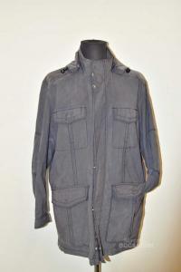 Coat Man Gray Jeans Paul & Shark Size M